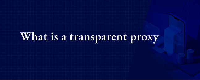 What is a transparent proxy