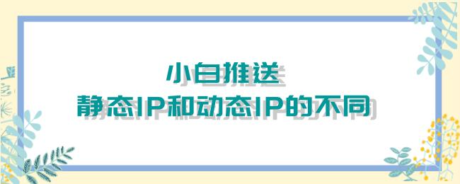小白推送!静态IP和动态IP的不同.png