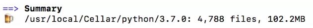 mac上怎么安装python3