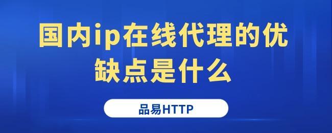 国内ip在线代理的优缺点是什么 (1).jpg